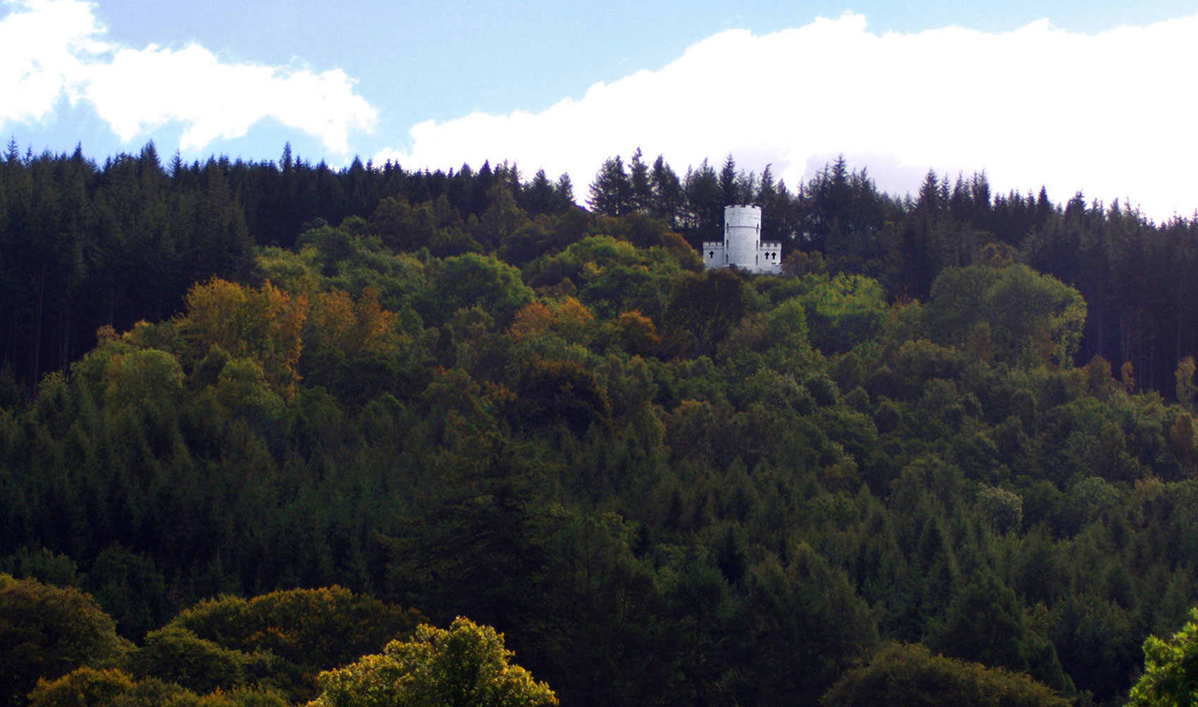 The White Tower in forest