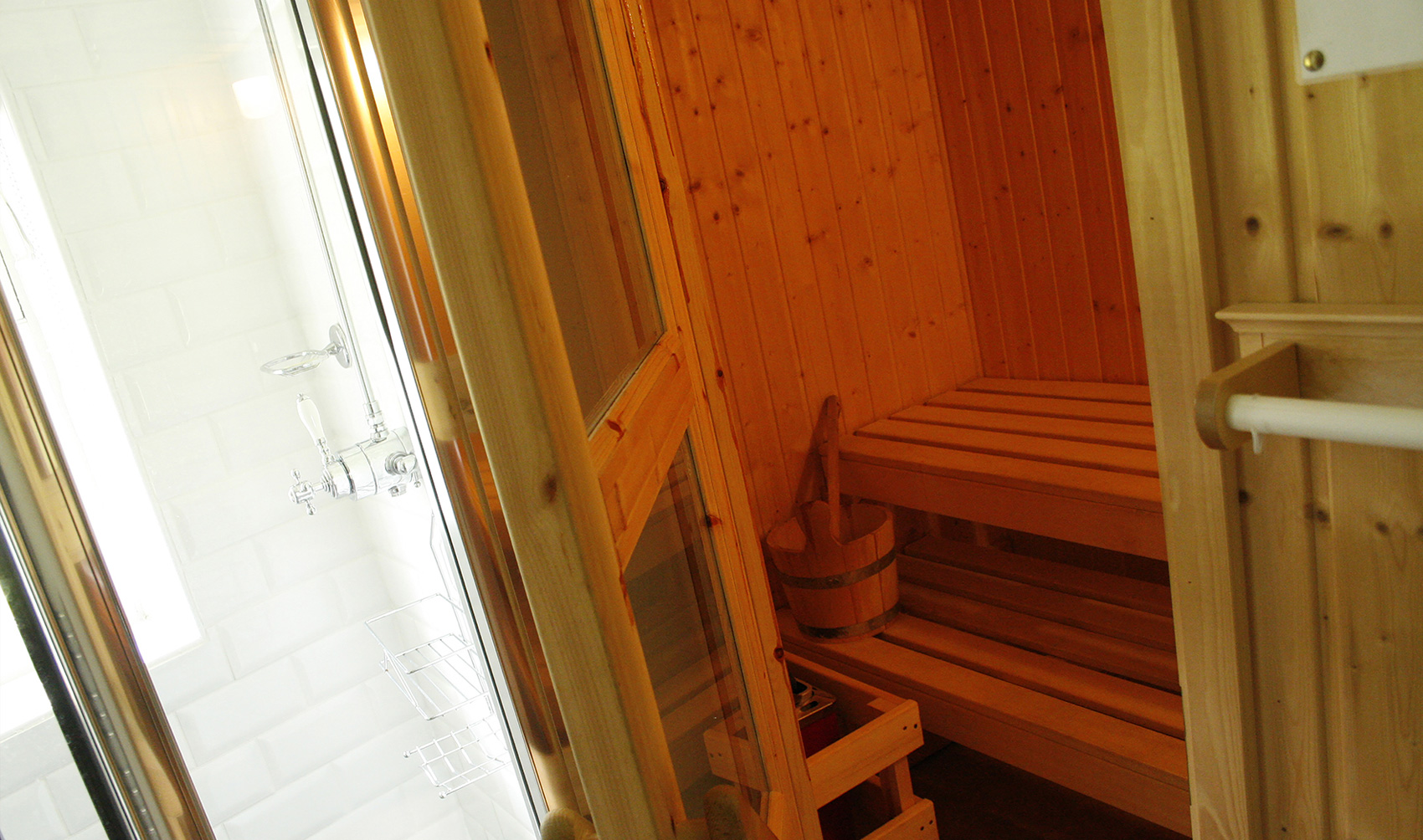 Sauna in The White Tower